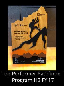 top performer pathfinder program H2 FY'17
