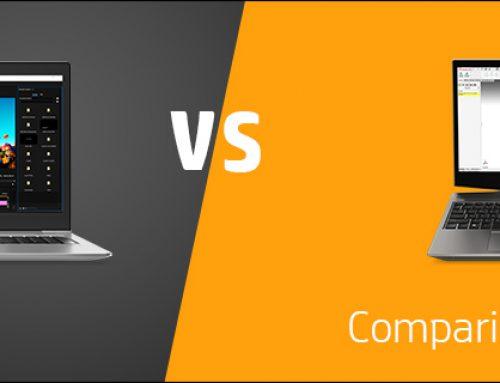 Comparing HP ZBook 15u and 15v